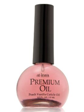 Inm Масло для кутикулы Premium Oil Персик