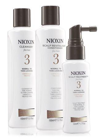 NIOXIN Система 3 для хим. обработанных волос