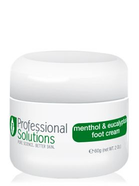 Professional Solutions Крем для ног с мятой и эвкалиптом