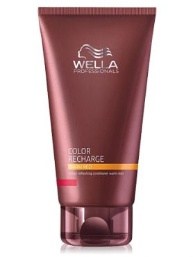Wella Warm Red Бальзам для освежения цвета