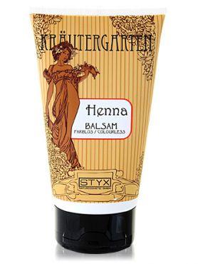 Styx ХЕННА Бальзам для волос бесцветный укрепляющий